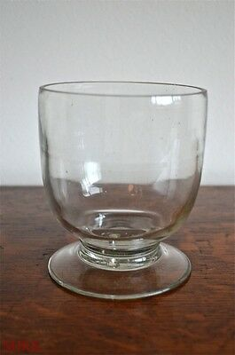 Replacement antique glass tea caddy bowl mixing bowl liner tea caddies