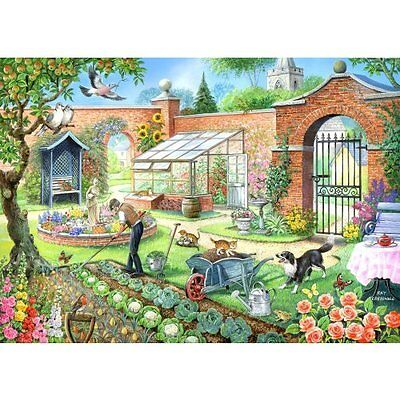 House Of Puzzles Kitchen Garden Jigsaw Puzzle