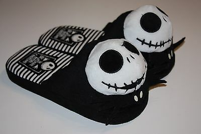 The Nightmare Before Christmas Jack Skeleton Slippers by Disney, Adult Size M