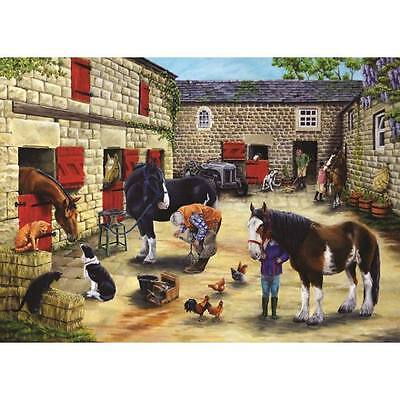 House Of Puzzles Farriers Visit Jigsaw Puzzle