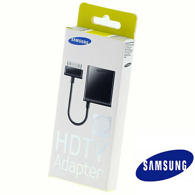 GENUINE SAMSUNG HDTV ADAPTER Cable P30 30 Pin GALAXY TAB 7.0 Plus 7.7 8.9 10.1