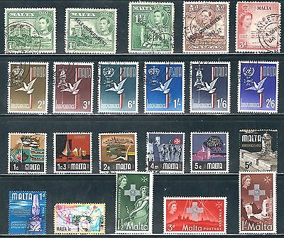 Malta - Very Nice Selection  of Stamps, ....Q16......# 6N21