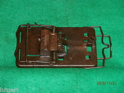 """Vintage all steel """"TERROR"""" rat trap, trapping"""