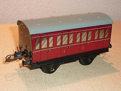 Wagon - voiture voyageur HORNBY MECCANO - ECH. O