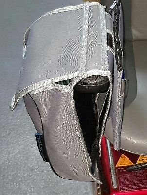 Mobility scooter bag with detachable purse/wallet