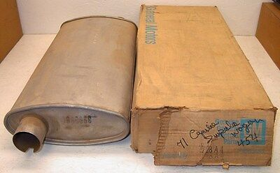 NOS GM 1971 Muffler - Chevy Caprice Impala Stationwagon Kingswood 400 454