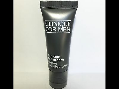 Clinique for Men Anti-Age Eye Cream .5 oz/15ml Full Size Exp 08/2018