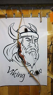 "Viking Bows- Thor Custom Takedown Recurve Bow 60"" Long, 50# At 28"" Rh"