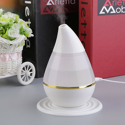 Ultrasound USB Air Humidifier Purifier 7 Colors Changing LED Aroma Atomizer ZR