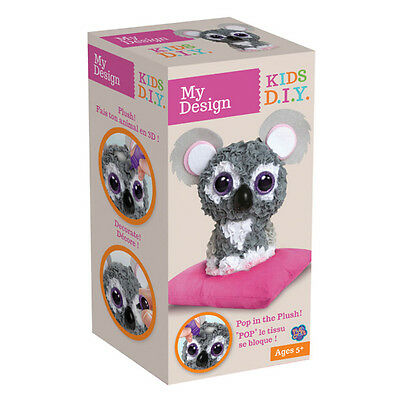 The Orb Factory 75385 Plush Craft™ My Design Koala Koalabär Tierfigur Bastelset