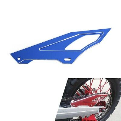 CNC Blue Chain Cover Guard Protector Fit for Yamaha Serow225 TW200 TW225