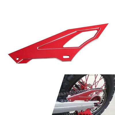 CNC Red Chain Cover Guard Protector For Honda CRF250L/M,XR250/Baja,CRM250R/AR
