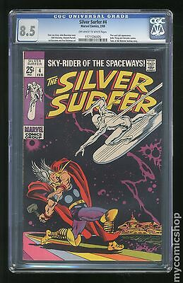 Silver Surfer (1968 1st Series) #4 CGC 8.5 (1171036005)