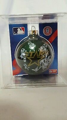 Dallas Stars Sports Collectors Series Glass Christmas Ornament NHL Hockey