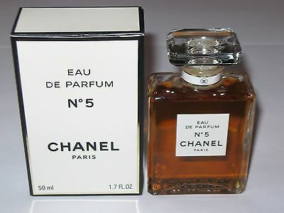 Vintage Perfume Bottle & Box Chanel No 5 EDP, 50 ML - 1.7 OZ - Full - #3