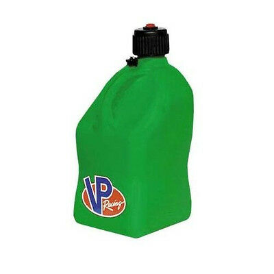 Fuel Jug Can Utility Gas Water Motorsport Container Green Vp Racing Imca Square