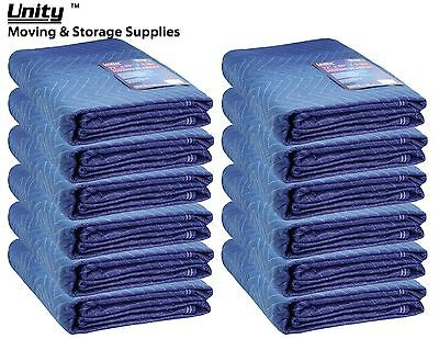 12 Pack Heavy duty Moving blankets Professional protection pads 72x80(62lb)#6256