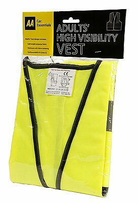 AA Car Essentials High Visibility Vest - Adult