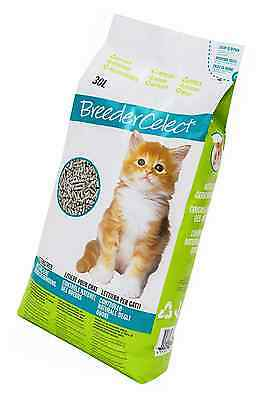 Breeder Celect Recycled Biodegradable Paper Pellet Cat Litter 30 Litre