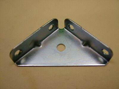 Pack 50 heavy duty enclosed corner brace angle brackets fixing repair plate 50mm