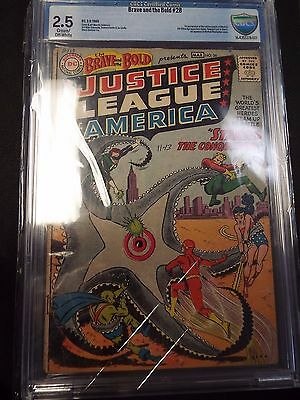Brave and the Bold #28 1st Justice League of America CBCS 2.5 ( like CGC )