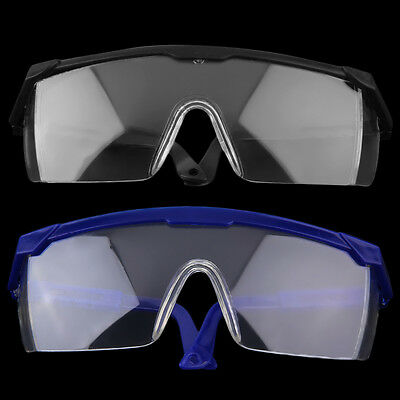 New Safety Eye Protection Glasses Goggles Lab Dust Paint Dental Industrial ZR