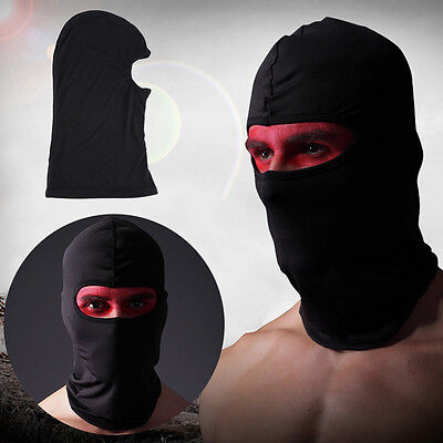 Black Cycling Bike Outdoor Head Neck Full Face Mask Cover Hat Protection Cap ZR