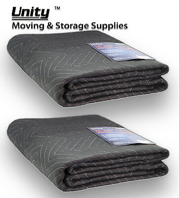 """2 Heavy duty Moving blankets Professional protection pads 72x80""""(62lb) #6258x2"""