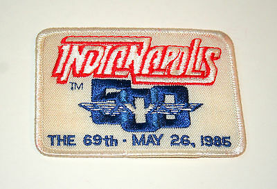 1985 69th Indy Indianapolis 500 Race Car Racing Cloth Jacket Patch New NOS