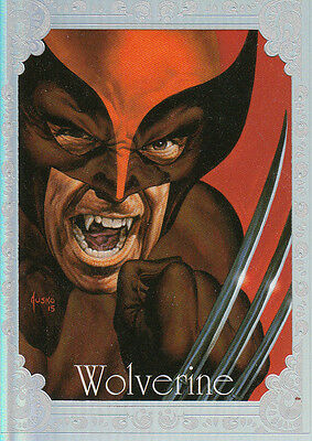 2016 Marvel Masterpieces - Gallery Red #92 Wolverine SSP #05/25 NM