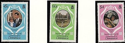 (71464) Dominica - Timbres Princesse Diana Mariage 1981 MNH