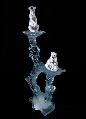 POLAR BEAR Sculpture Nature's Promise 25 of 500 Limited Edition Starlite NWOB