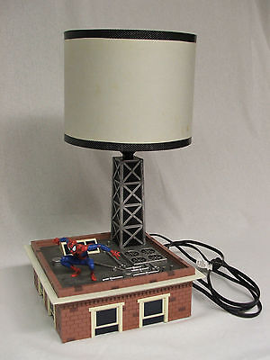 Marvel Spider-Man Voice Lamp Motion Light Diorama KNG America Collectible RARE