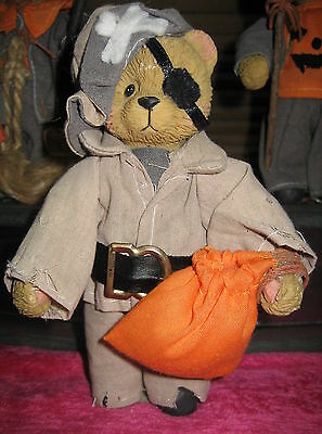 Halloween Teddy Bear Dressed as Pirate similar to Taylor 1994 Sail the Seas w Me