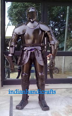 Medieval Wearable Knight Crusador Full Suit Of Armor Collectible Armor