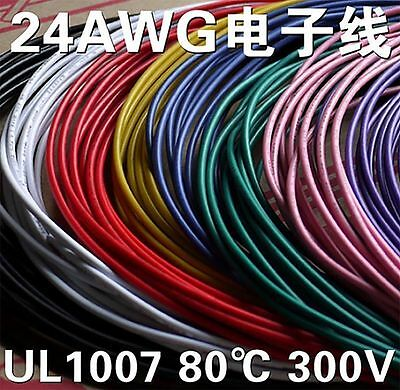 Flexible 18AWG Stranded UL1015 Wire Cable Cord Hook-up DIY Electrical