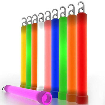Outdoor Survival Signal Light Up Glow Sticks Party Decor Favors Neon Rave