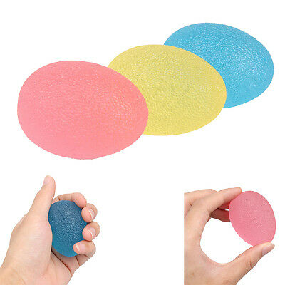 3pcs Hand Therapy Exercise Squeeze Stress Balls Stress Relief Grip Strengthener
