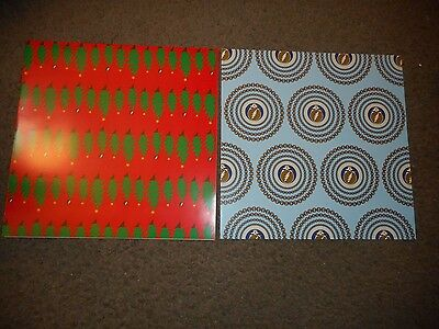 The Grateful Dead - Set Of 2 Original Wrapping Paper Sheets