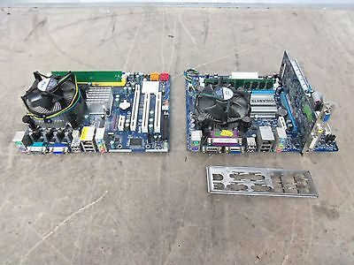 2 x ASRock + GIGABYTE Motherboards With Intel Dual Core Processors + DDR2 RAM !!