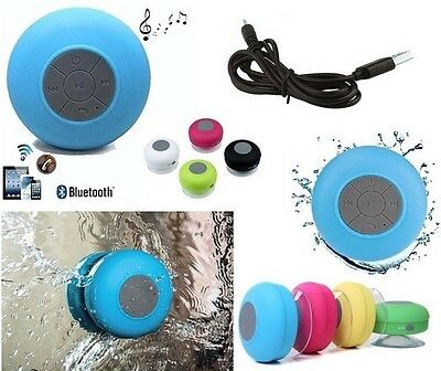 Mini Speaker Bluetooth Waterproof Cassa Portatile Impermeabile Mp3 Piu' Ventosa