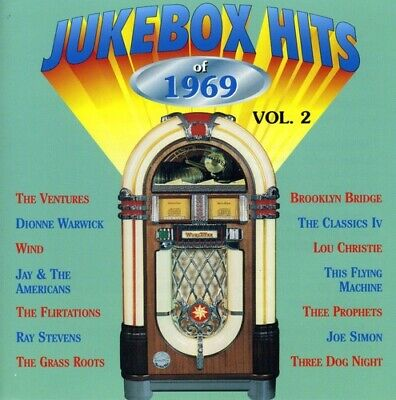 Various Artists - Jukebox Hits of 1969 Vol. 2 [New CD]