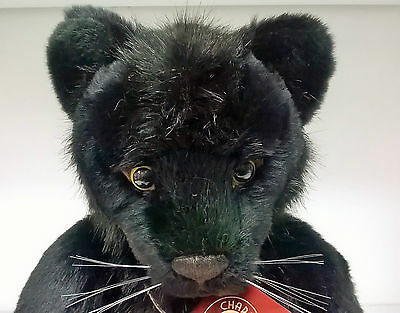 CB161627 Sheba the Panther by Charlie Bears