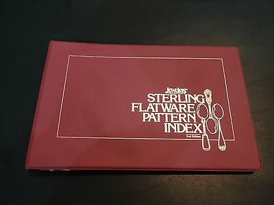 Jeweler's Circular/Keystone- Sterling Flatware Pattern Index, 2nd Edition, 1989