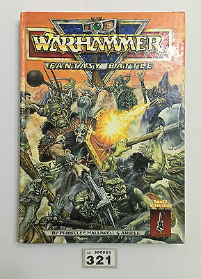 Games Workshop Warhammer Fantasy Battle Rulebook 1987 Hardback 3Rd Edition