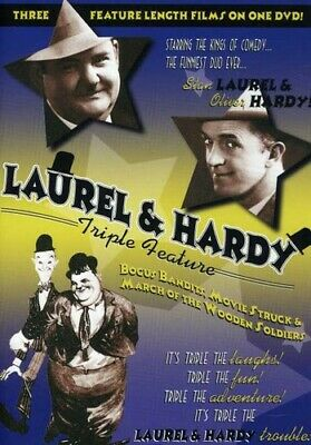 Laurel and Hardy Triple Feature (2007, REGION 1 DVD New)