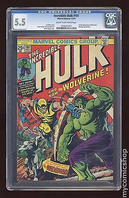 Incredible Hulk (1962-1999 1st Series) #181 CGC 5.5 (1204407001)