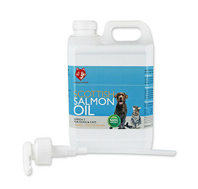 **SALE**HEALTHY HOUNDS SALMON OIL OMEGA 3 for dogs 2500ml Dog health supplement