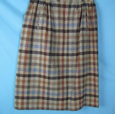 Vtg Womens Knockabouts Pendleton Wool Tartan Plaid Skirt