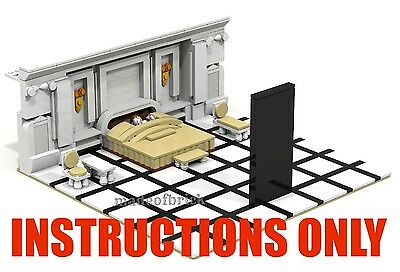 CUSTOM LEGO: 2001:A Space Odyssey. Movie by Stanley Kubrick. INSTRUCTIONS ONLY